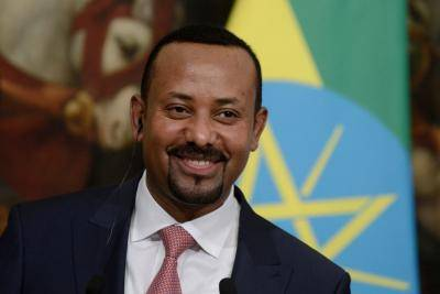 Prime Minister Abiy Ahmed in January. Photo: Getty Images.